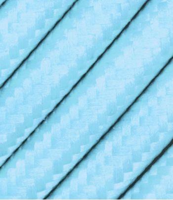 Tekstilinis laidas šviesiai mėlynas 2x0,75 mm²