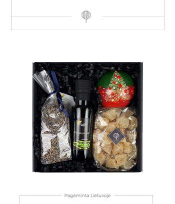 Kalėdinis dovanų rinkinys – Imbieras ir levanda