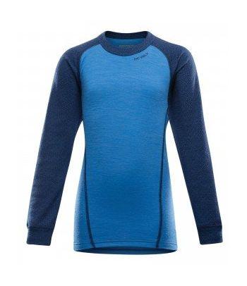 Apatiniai merino vilnos vaikiški marškinėliai Devold