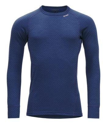 Mėlyni termo marškinėliai vyrams Devold