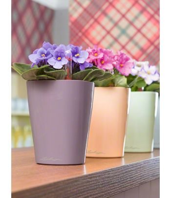 Plastikinis vazonas gėlėms Deltini