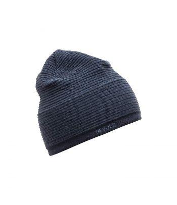 Švelni mėlyna vilnonė kepurė Devold