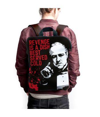 Kuprinė 'Revenge is a dish best served cold'