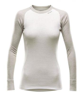 Dvisluoksniai termo marškinėliai Devold Offwhite