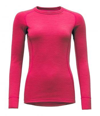 Apatiniai termo marškinėliai moterims Devold Raspberry