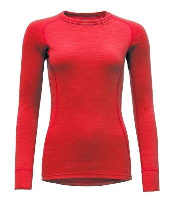 Apatiniai termo marškinėliai moterims Devold Strawberry