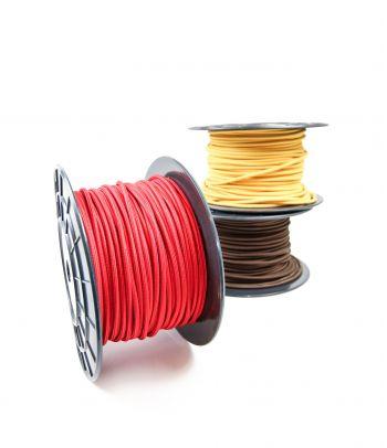 Didmeninė kaina 2x0,75 mm² kabelis raudonas 100 m