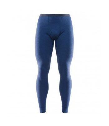 Vyriškos mėlynos apatinės termo kelnės Devold