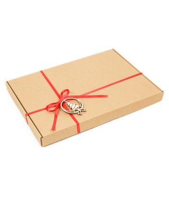 Vienspalvis alpakos vilnos šalikas su dovanų dėžute