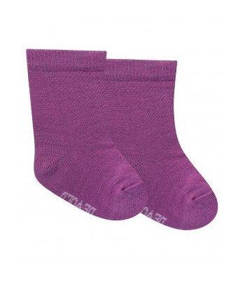 Vilnonės kojinės kūdikiams Merino vilna Devold peony (2 poros)