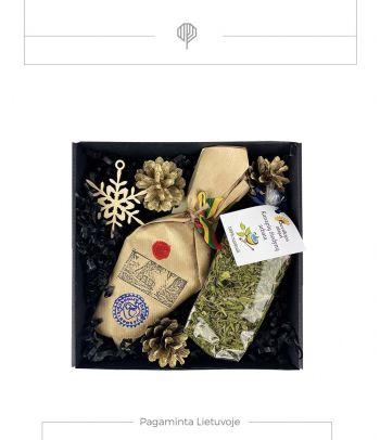 Kalėdinė dovana – Obuolių suris ir kanapių arbata
