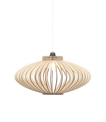 Plokščias medinis šviestuvas kambariui 'Vienna M'