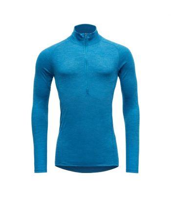 Merino marškinėliai aukštu kaklu bėgimui Devold running