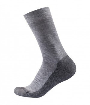 Merino vilnos kojinės Devold Grey melange 1 pora